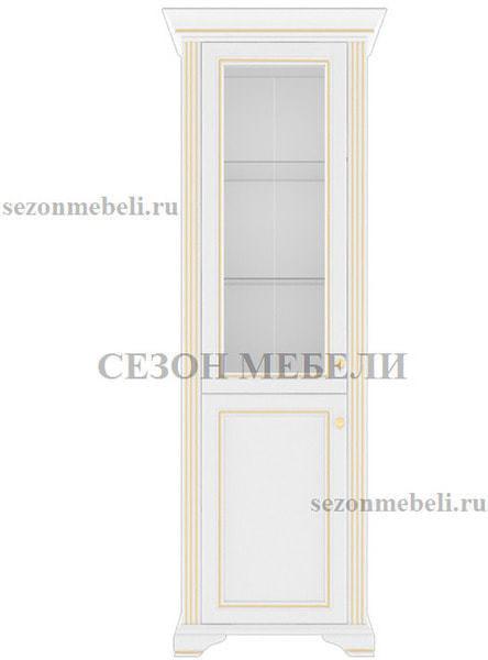 Шкаф - Витрина 1-дверный Вайт 1D1W (фото, вид 1)