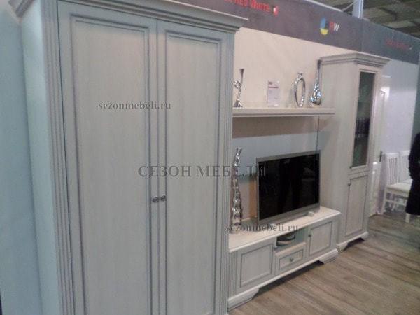Шкаф - Витрина 1-дверный Вайт 1D1W (фото, вид 3)