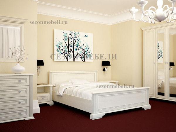 Кровать Вайт LOZ140/160/180x200 (фото, вид 2)
