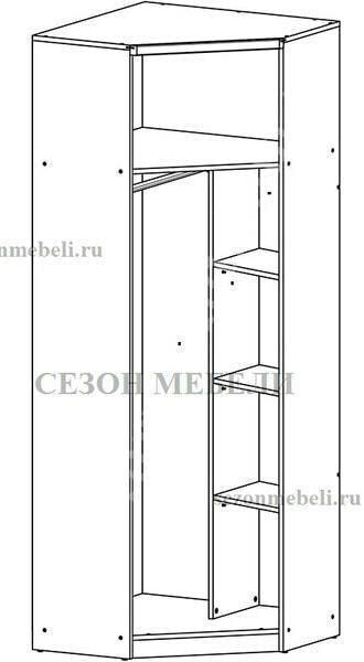Шкаф угловой Малкольм SZFN1D (фото, вид 2)