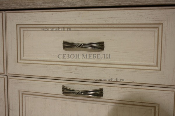 Шкаф - пенал Монако (Monako) 2D1S (фото, вид 3)