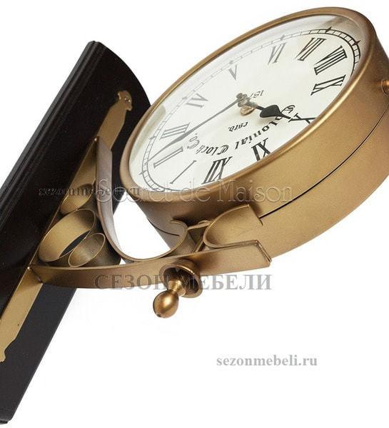 Часы cтанционные с двумя циферблатами Secret de Maison (mod. 37049) (фото, вид 1)