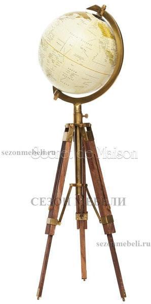 """Глобус на треноге настольный Secret De Maison ( mod. 52251/8"""" ) (фото, вид 1)"""