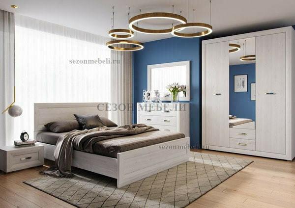 Кровать Мальта (Malta) LOZ140/160/180x200 (фото, вид 1)