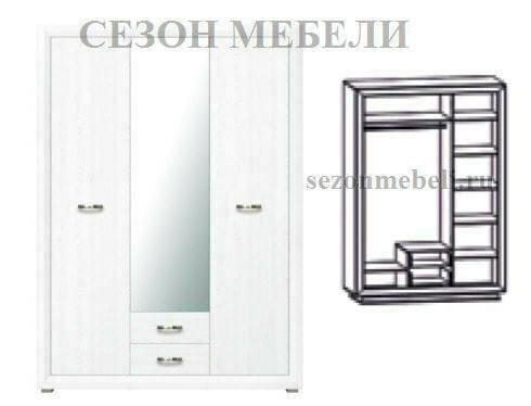 Шкаф 3-дверный Мальта (Malta) SZF3D2S (фото, вид 1)