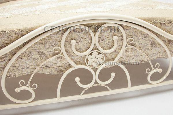 Кровать Elizabeth (Элизабет) ан.9701 античный белый (фото, вид 1)
