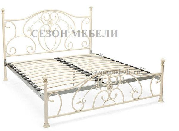 Кровать Elizabeth (Элизабет) ан.9701 античный белый (фото, вид 2)