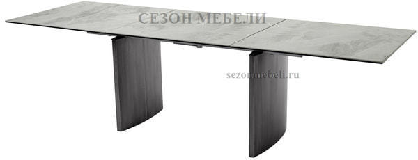 Стол METEOR 180 CERAMIC керамика на стекле (фото, вид 1)