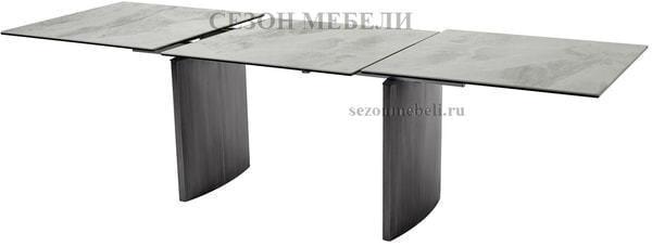 Стол METEOR 180 CERAMIC керамика на стекле (фото, вид 2)