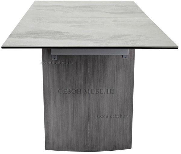 Стол METEOR 180 CERAMIC керамика на стекле (фото, вид 4)