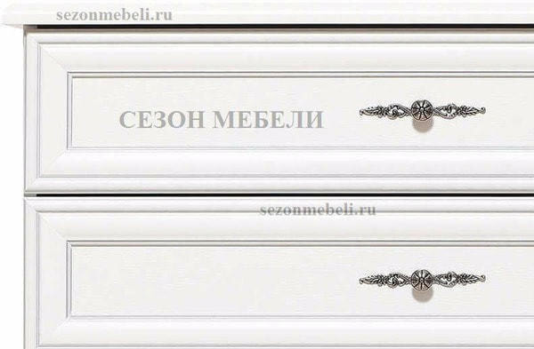 Комод Кентаки KOM4S белый (фото, вид 2)