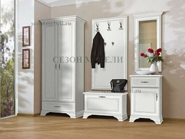 Зеркало Кентаки LUS/50 белый (фото, вид 1)