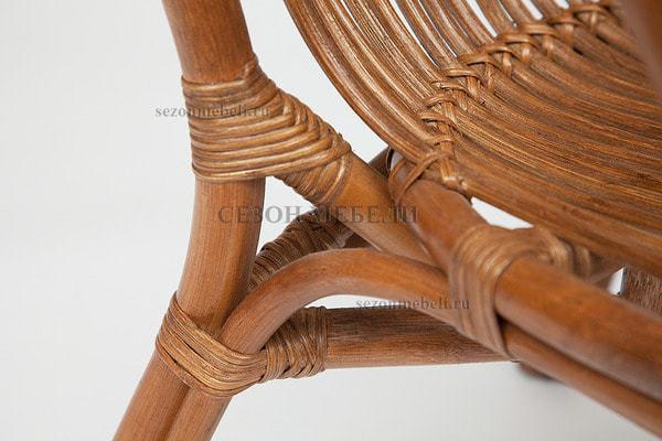 Комплект для отдыха New Bogota (диван + 2 кресла + стол со стеклом) (фото, вид 8)