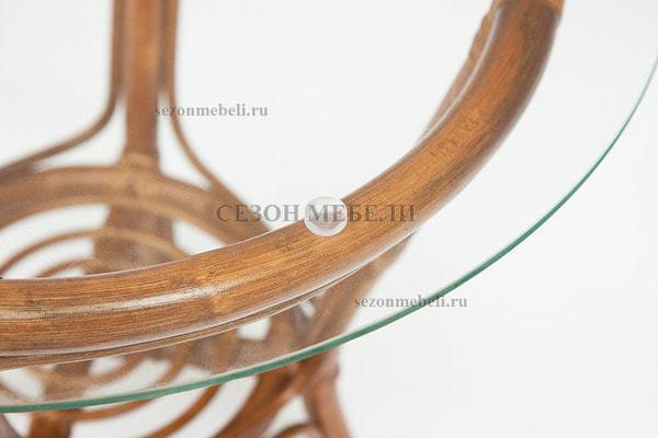 Комплект для отдыха New Bogota (диван + 2 кресла + стол со стеклом) (фото, вид 9)