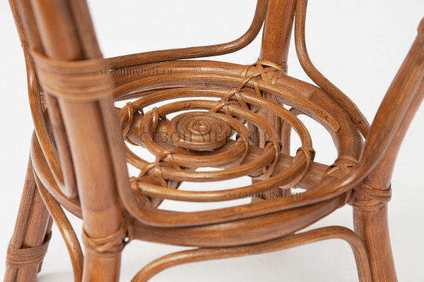 Комплект для отдыха New Bogota (диван + 2 кресла + стол со стеклом) (фото, вид 10)