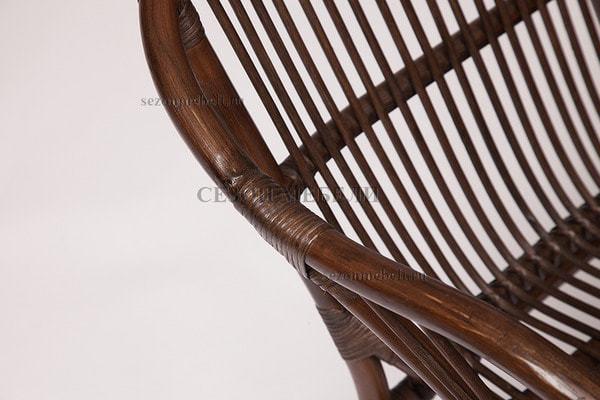 Комплект для отдыха New Bogota (диван + 2 кресла + стол со стеклом) (фото, вид 13)