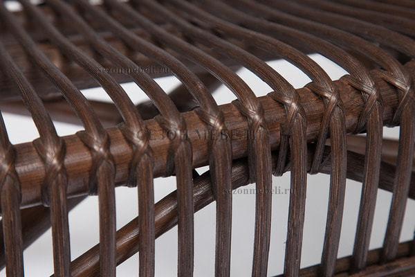 Комплект для отдыха New Bogota (диван + 2 кресла + стол со стеклом) (фото, вид 15)