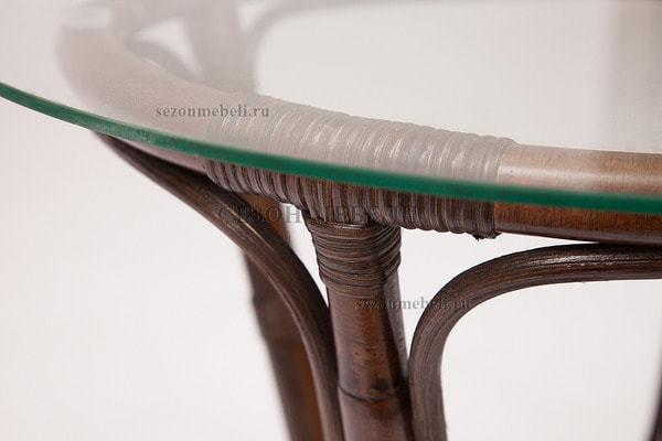Комплект для отдыха New Bogota (диван + 2 кресла + стол со стеклом) (фото, вид 20)