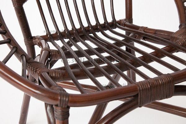 Комплект для отдыха Turkey (Туркей) (стол круглый со стеклом+2 кресла + диван) (фото, вид 2)