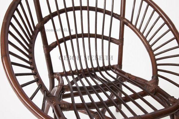 Комплект для отдыха Turkey (Туркей) (стол круглый со стеклом+2 кресла + диван) (фото, вид 3)