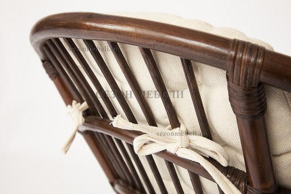 Комплект для отдыха Turkey (Туркей) (стол круглый со стеклом+2 кресла + диван) (фото, вид 4)