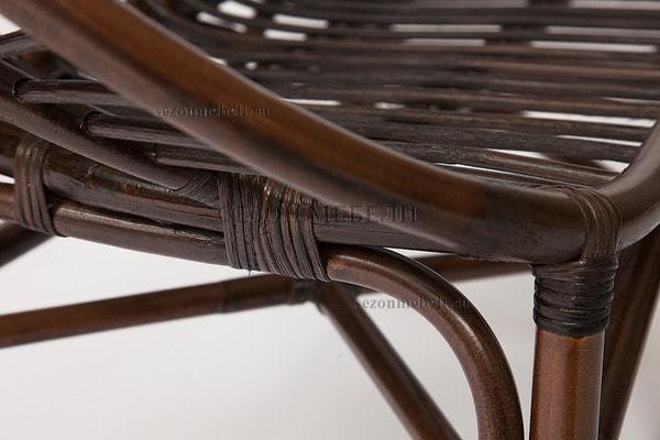 Комплект для отдыха Turkey (Туркей) (стол круглый со стеклом+2 кресла + диван) (фото, вид 7)