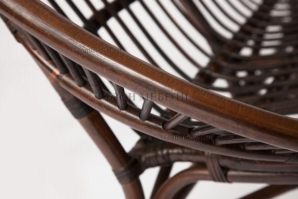 Комплект для отдыха Turkey (Туркей) (стол круглый со стеклом+2 кресла + диван) (фото, вид 8)