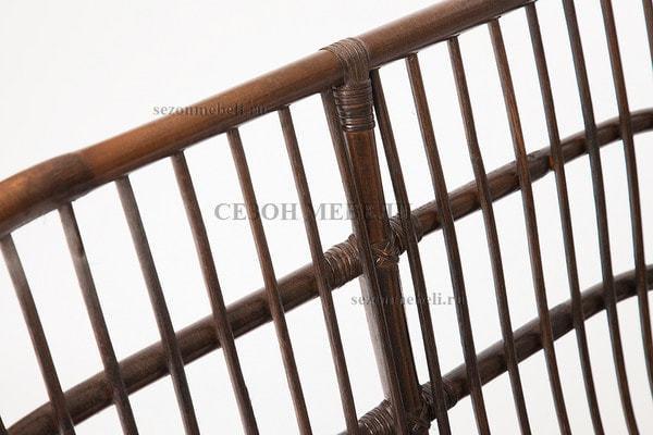 Комплект для отдыха Turkey (Туркей) (стол круглый со стеклом+2 кресла + диван) (фото, вид 9)