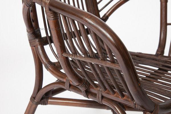 Комплект для отдыха Sonoma (Сонома) (стол круглый со стеклом+2 кресла+диван) (фото, вид 2)