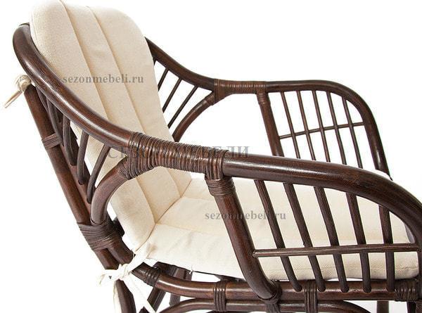 Комплект для отдыха Sonoma (Сонома) (стол круглый со стеклом+2 кресла+диван) (фото, вид 4)