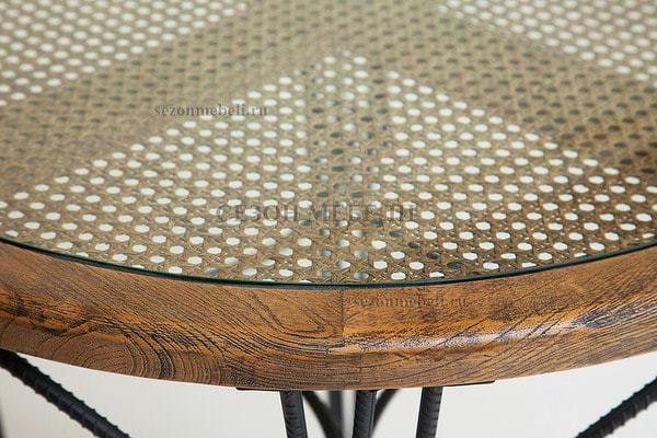Обеденная группа Piemonte (Пьемонте) (стол+2 стула) (фото, вид 6)