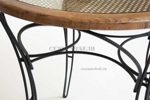 Обеденная группа Piemonte (Пьемонте) (стол+2 стула) (фото, вид 7)