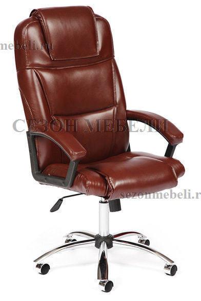 Кресло офисное Bergamo (Бергамо) Хром (фото, вид 1)