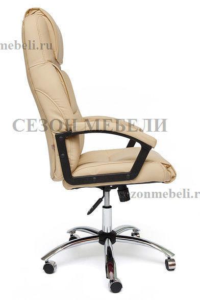Кресло офисное Bergamo (Бергамо) Хром (фото, вид 9)