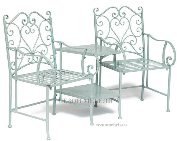 Комплект Tet-a-Tet (mod. PL08-34283B) (столик+ 2 кресла) (фото, вид 1)