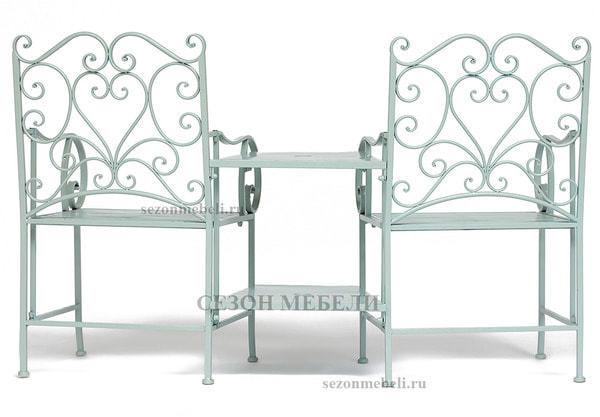 Комплект Tet-a-Tet (mod. PL08-34283B) (столик+ 2 кресла) (фото, вид 2)