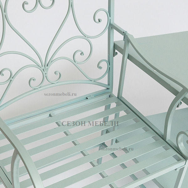 Комплект Tet-a-Tet (mod. PL08-34283B) (столик+ 2 кресла) (фото, вид 3)