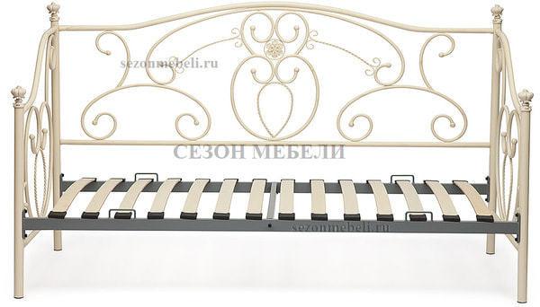 Кровать Jane (Джейн) античный белый (фото, вид 2)