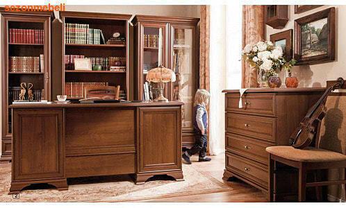 Стол письменный Кентаки BIU2D2S (фото, вид 2)