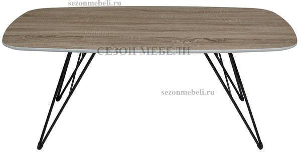 Стол журнальный WOOD83 #4 дуб серо-коричневый винтажный (фото, вид 1)