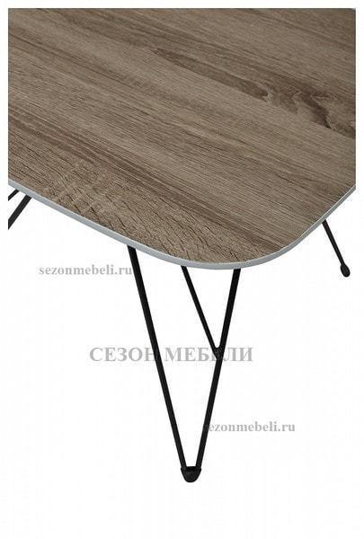 Стол журнальный WOOD82 #4 дуб серо-коричневый винтажный (фото, вид 2)