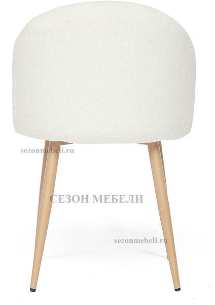 Стул Melody (mod. 7003) Белый плюш (фото, вид 3)
