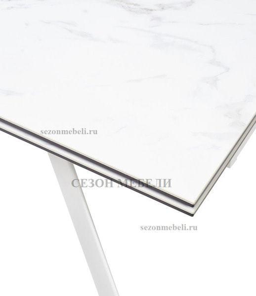 Стол SPYDER 160 KL-99 итальянская керамика/ белый каркас (фото, вид 4)