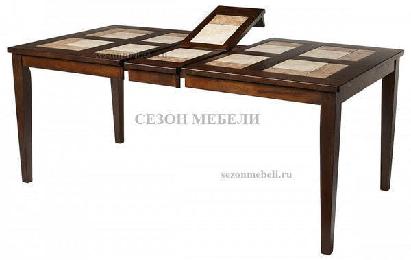 Стол LT T13271 HONEY OAK #K115/ плитка 2 тона Cosmo, Antige Leather (фото, вид 1)