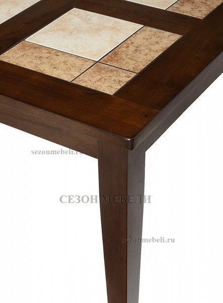Стол LT T13271 HONEY OAK #K115/ плитка 2 тона Cosmo, Antige Leather (фото, вид 2)