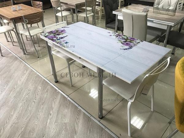 Стол 4001 BATIK PURPLE (фото, вид 6)