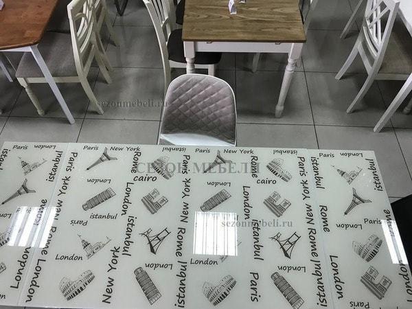 Стол 4001 ISTANBUL KREM (фото, вид 5)
