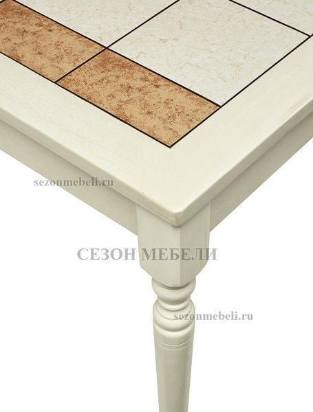 Стол LT T13302 BUTTERMILK #WW21/ плитка 2 тона LILY WHITE/ COSMO (фото, вид 2)