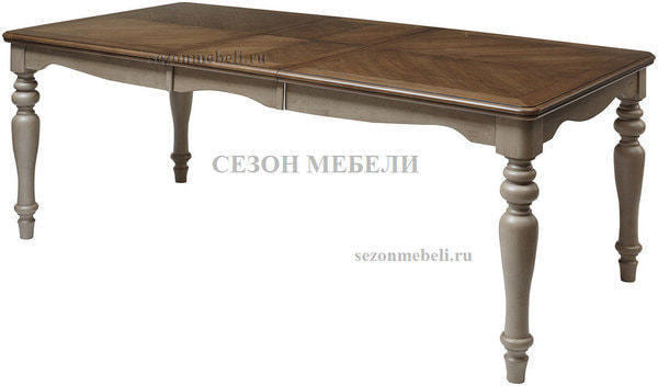 Стол LT T18331 OAK #K558/ MILKY GREY #G48 (фото, вид 2)
