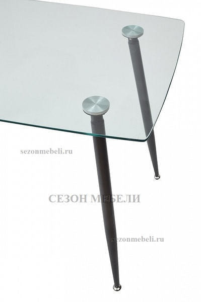Стол RON 120 прозрачный (фото, вид 1)